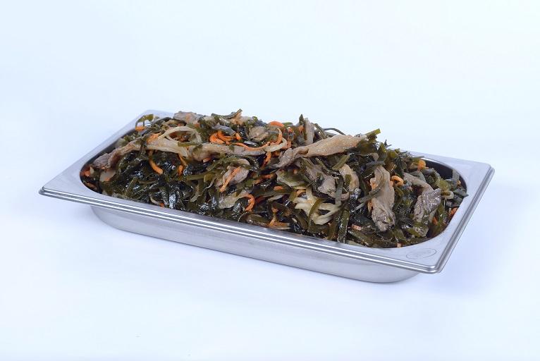 Морська капуста з грибами
