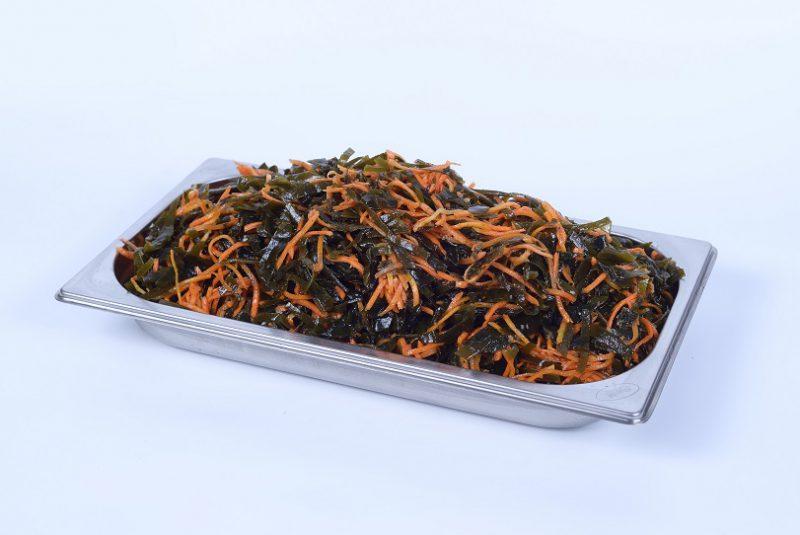 Салат з морської капусти з морквою по-корейськи